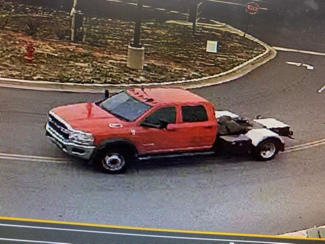 Suspect vehicle in Rockingham County shooting