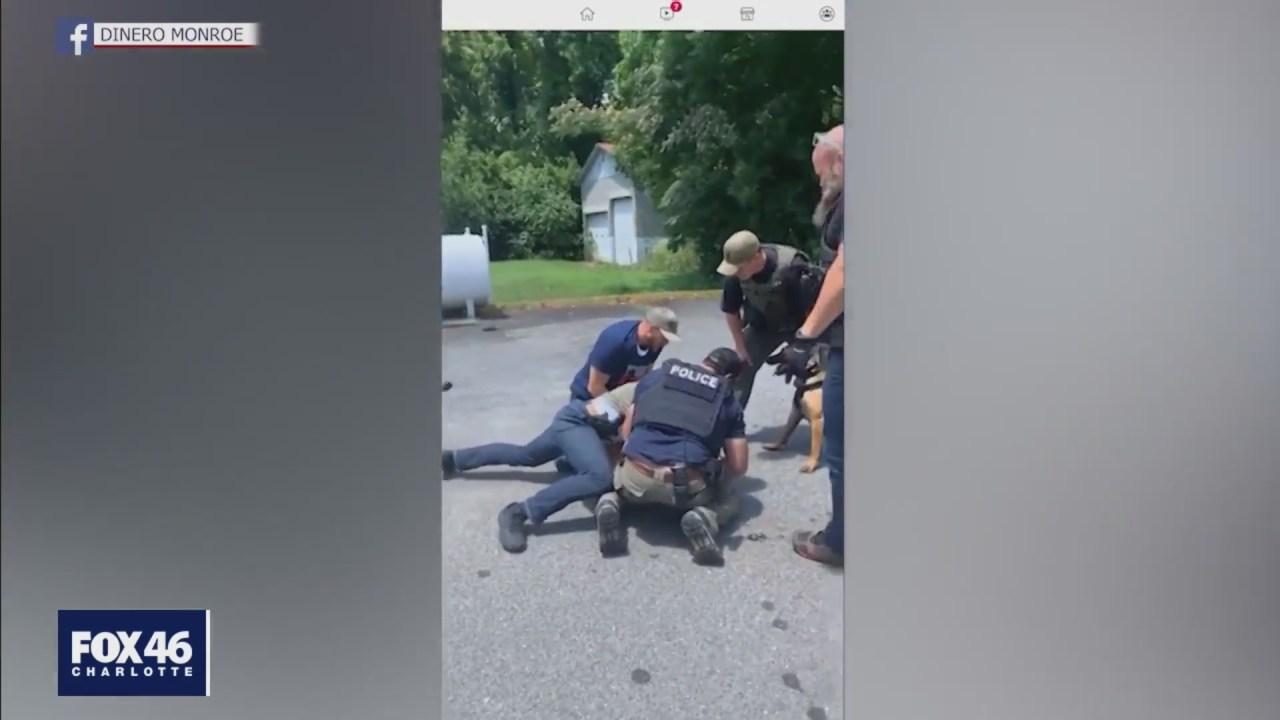 Arrest video sparks overnight protest in South Carolina
