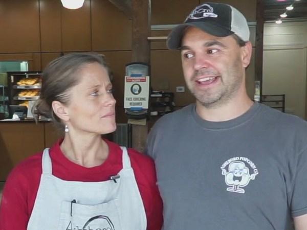 Small Business Spotlight: Asheboro couple runs popcorn and bagel shops