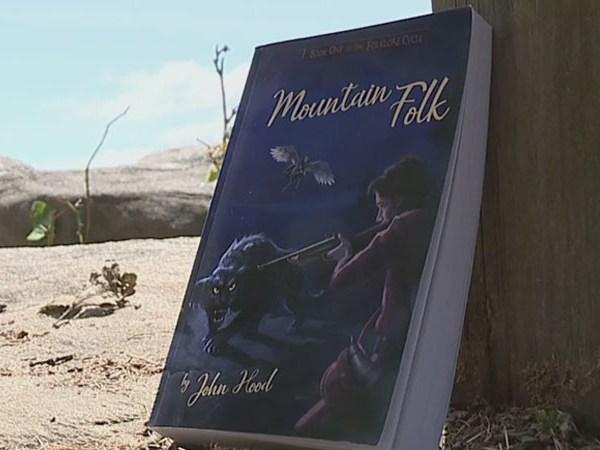 Author has novel idea for promoting new book 'Mountain Folk'