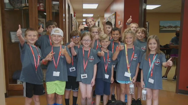 Summerfield Fire Kids Camp teaches campers lifesaving lessons