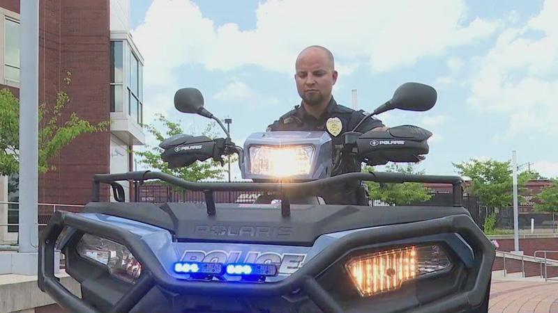 UNCG Police Department gets new ATVs