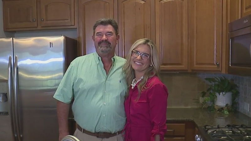 Triad dietician teaching others, including her own father, healthy habits