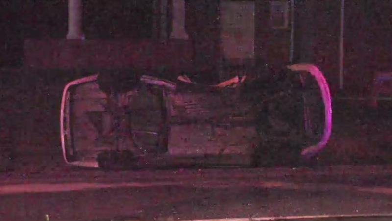 5 people taken to hospital after crash involving 3 cars in Winston-Salem