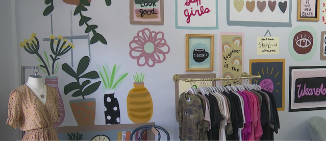 New clothing store in Gibsonville only sells clothes, items women make or those ethically made