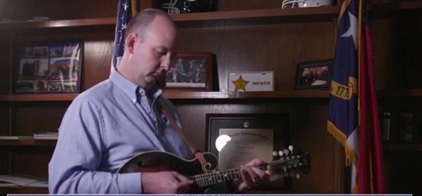 'My grandfather gave me my first guitar': Stokes County sheriff has lifelong passion for bluegrass