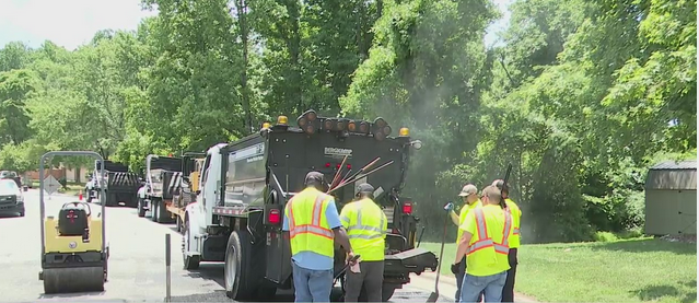 Speed humps being installed in High Point neighborhood to reduce speeding