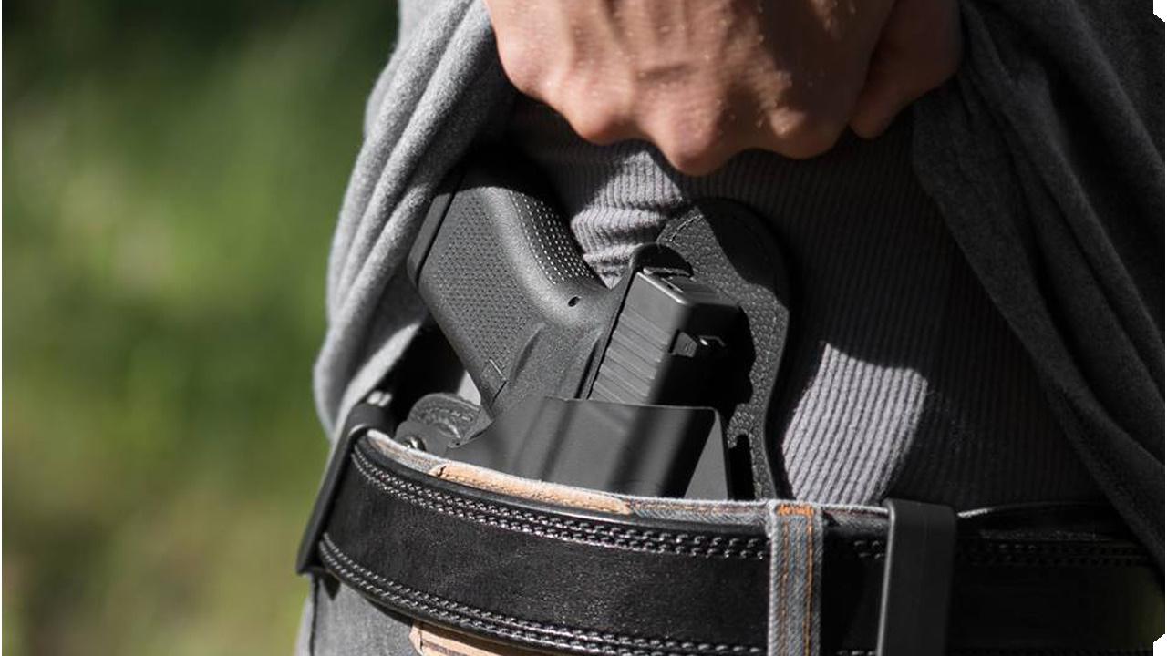 A concealed handgun (File/KELO)