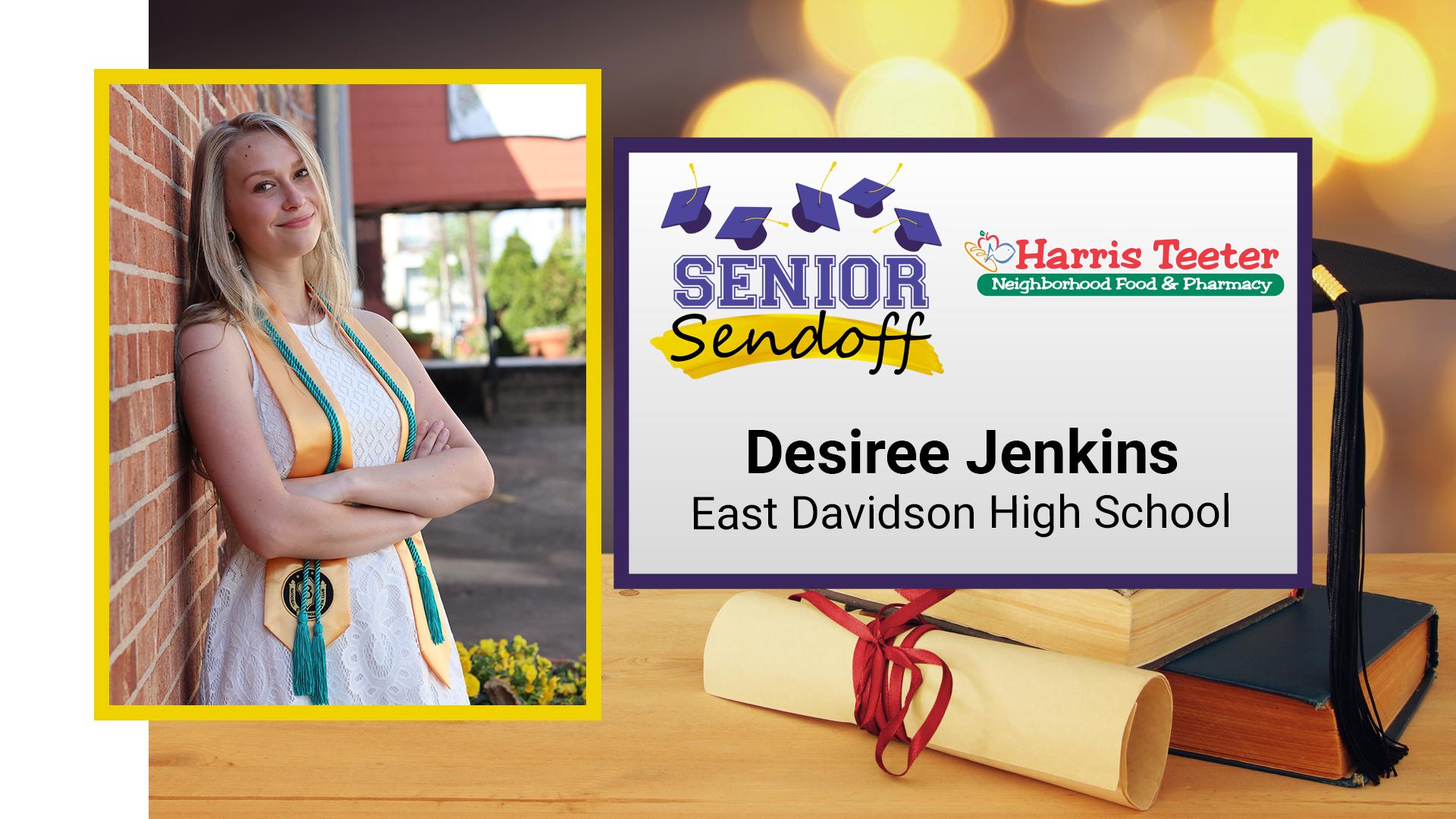 FOX8 Senior Sendoff: Desiree Jenkins