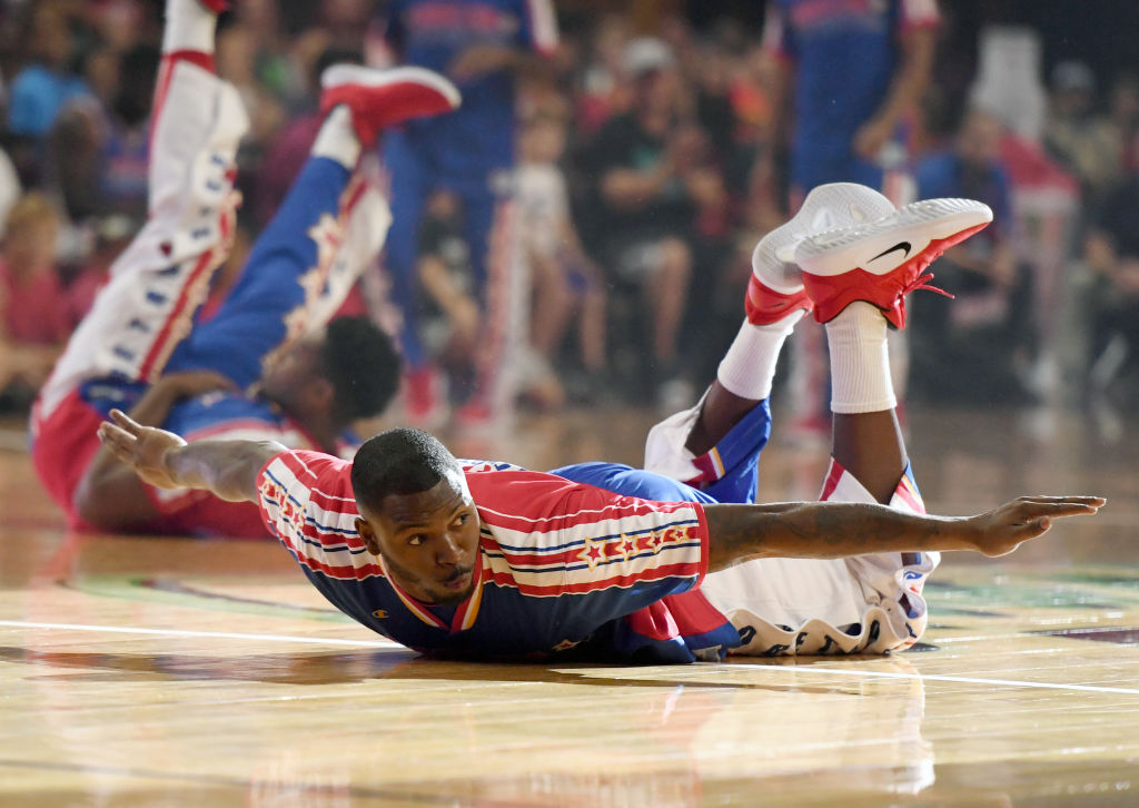 The Harlem Globetrotters want to join the NBA