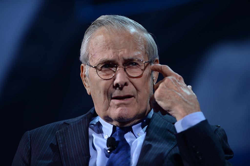 Donald Rumsfeld (Photo by Riccardo Savi/Getty Images for Concordia Summit)