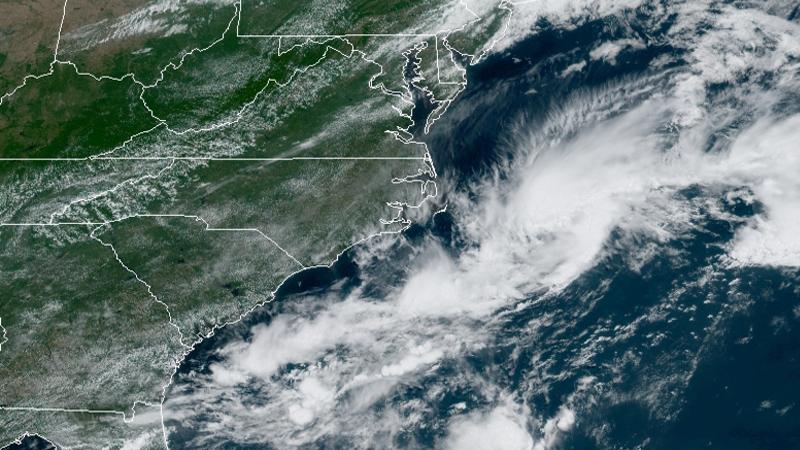 Tropical depression forms off North Carolina coast (National Hurricane Center)