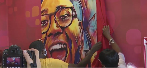 Mural unveiled at Winston-Salem CVS in honor of shooting victim