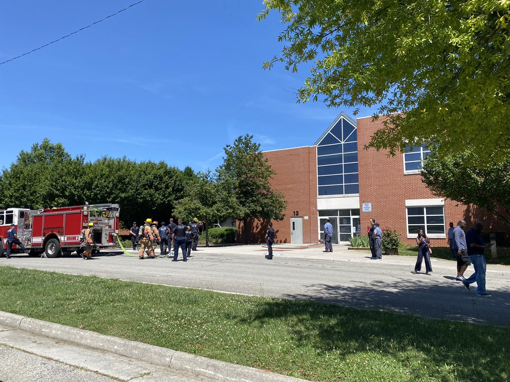 Woman dies after fiery crash at Virginia middle school