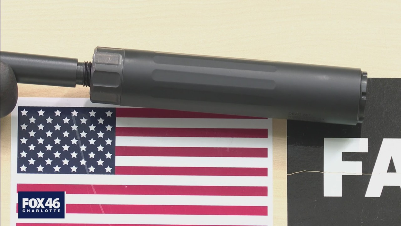 Hearing Protection Act: Legislation introduced to loosen gun suppressor laws in NC