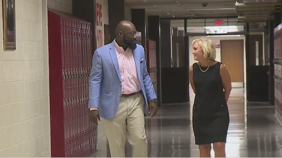 Principal Marcus Gause talks about his viral video