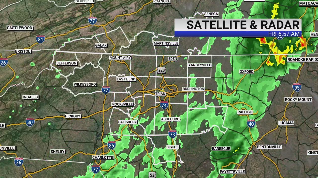Humid weather for weekend forecast sandwiched between rainy Friday morning, rainy week ahead