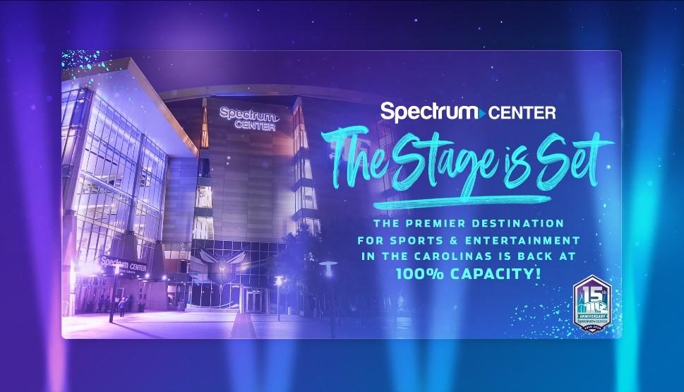 Spectrum Center Announces Full Reopening