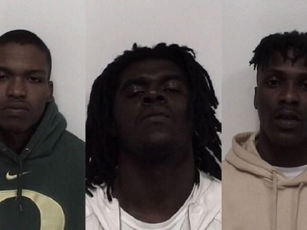 Shalik Naquan White, Zachary Deontra Kearns and Keyon Jordan Canty