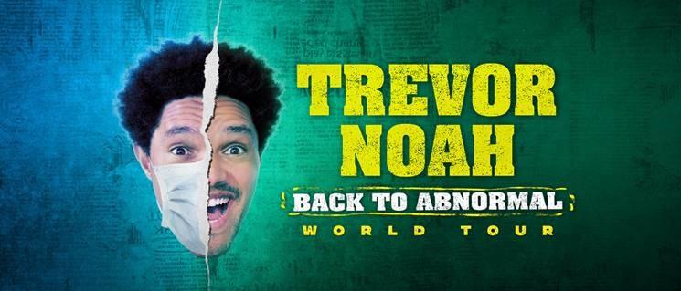 White Oak Amphitheatre announces Trevor Noah's 'Back to Abnormal' World Tour for September in Greensboro
