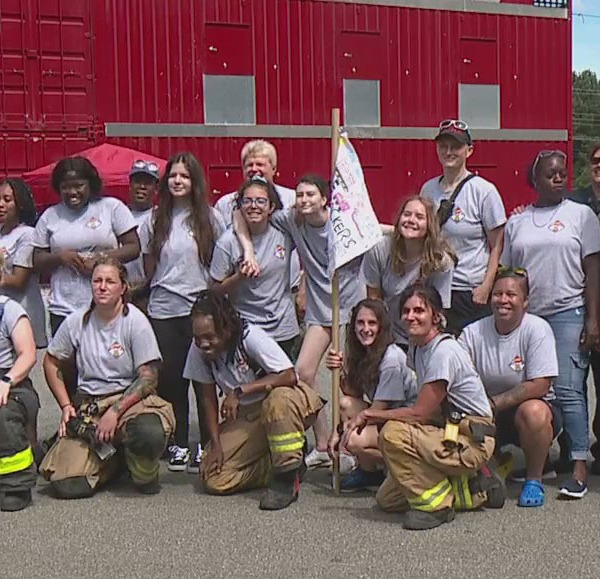 Greensboro Fire Department's Camp Spark getting girls interested in firefighting