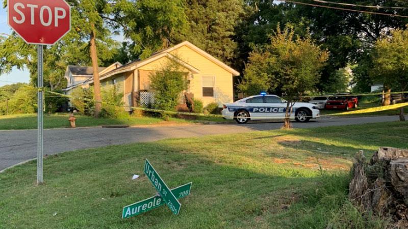 Man injured in shooting on Aureole Street in Winston-Salem (Photo: WSPD)