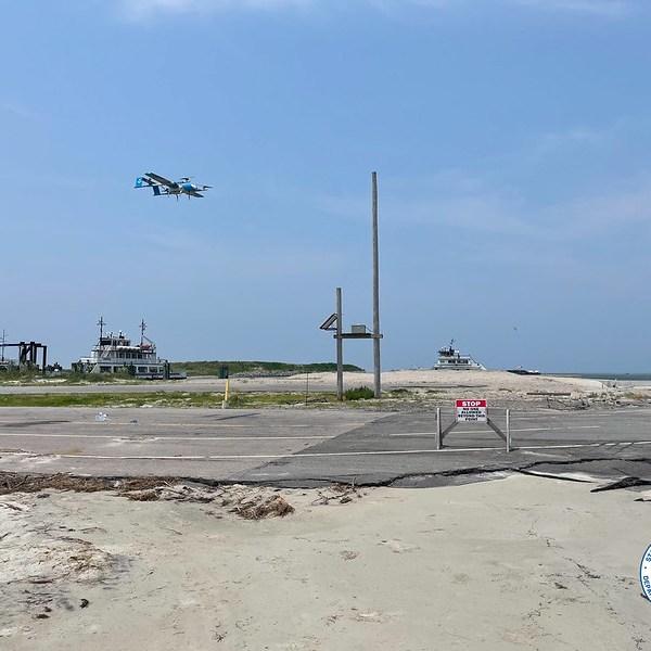 Drone Test Flight Courtesy of NCDOT