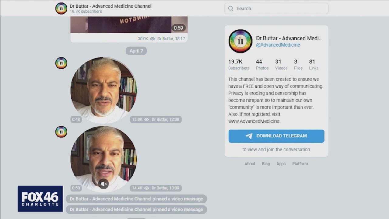 North Carolina doctor one of a dozen people spreading COVID misinformation on social media