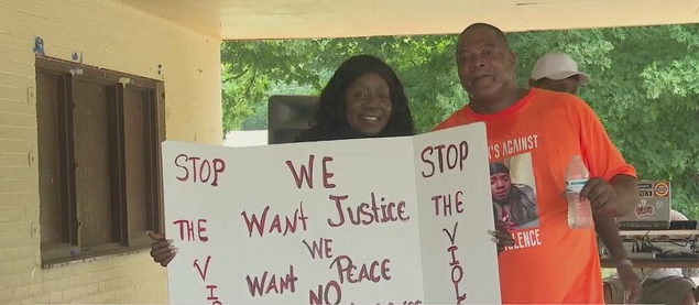 Families host stop the violence memorial in Greensboro