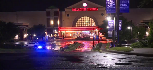 High Point police respond to reports of 'active shooter' at the Palladium; find 2 cars damaged, no threat to the public
