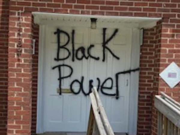 Winston-Salem church members looking for answers after recent graffiti