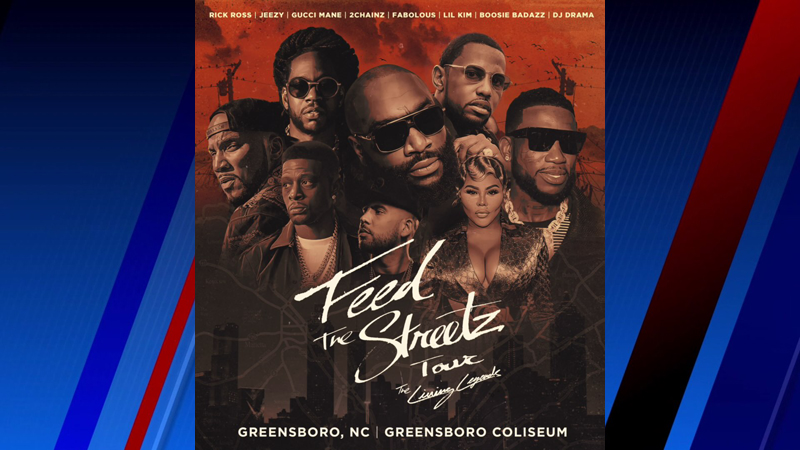 Hip-hop heavyweights coming to Greensboro Coliseum for 'Feed the Streetz' Tour