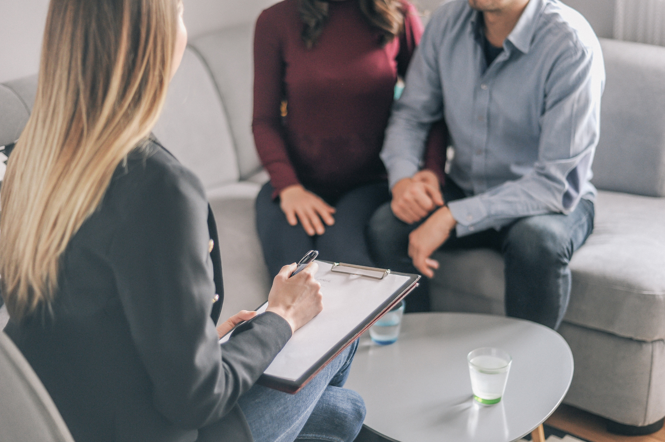 Home counselling with a young expecting couple with problems