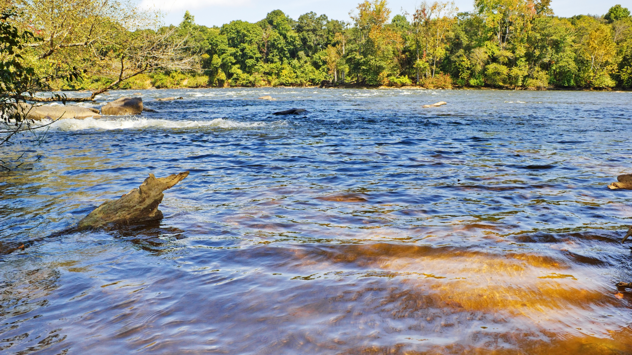 The Catawba River in Rock Hill, South Carolina (Stock image/Getty)