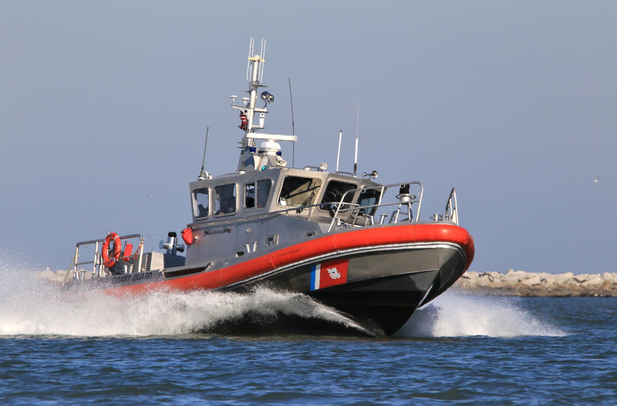 Coast Guard vessel (Stock image/Getty)