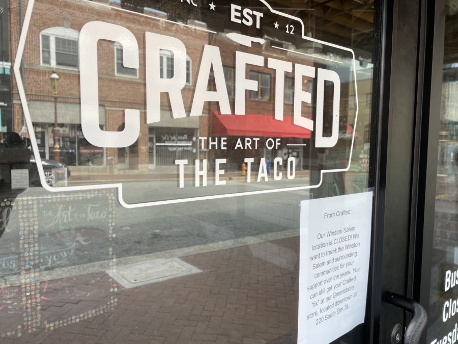 Crafted The Art of the Taco closes in Winston-Salem