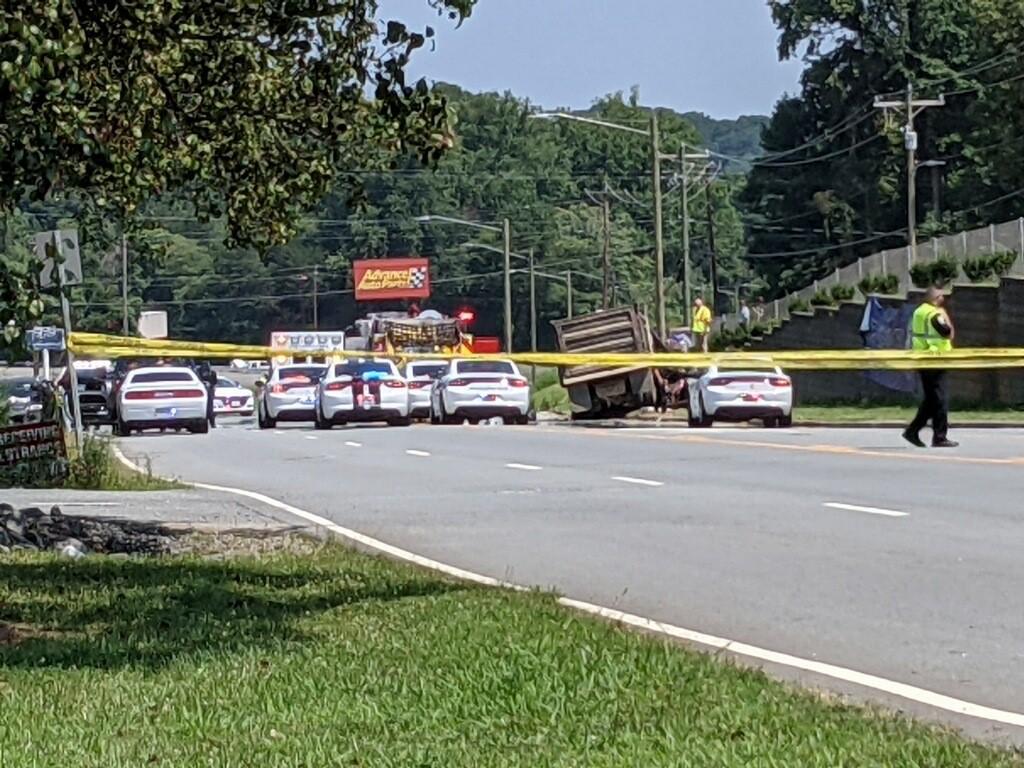 Police investigate crash on 3600 block of North Patterson Avenue