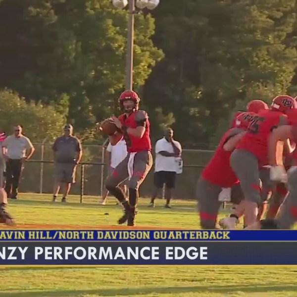 FOX8 Frenzy Performance Edge: Gavin Hill, North Davidson High School player overcoming cancer