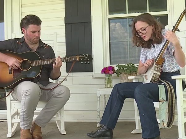 Triad couple hitting the right notes as they build a life together on and off the stage