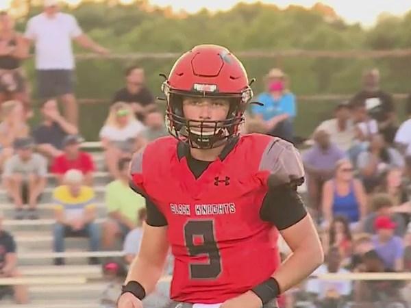 North Davidson High quarterback plays under Friday night lights while battling cancer