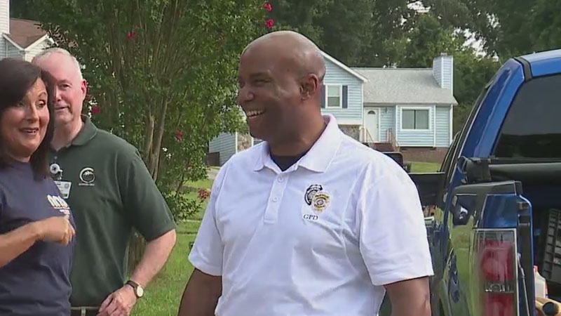 Greensboro police chief visits several communities for National Night Out, addresses efforts to curb violent crime