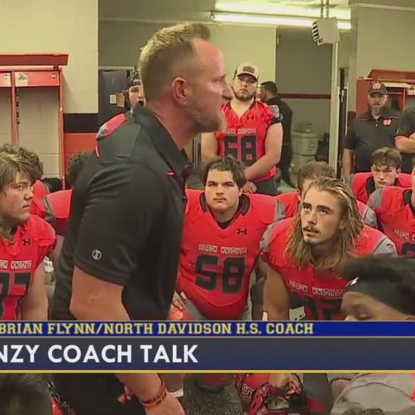Coach Talk: Brian Flynn, head coach of North Davidson