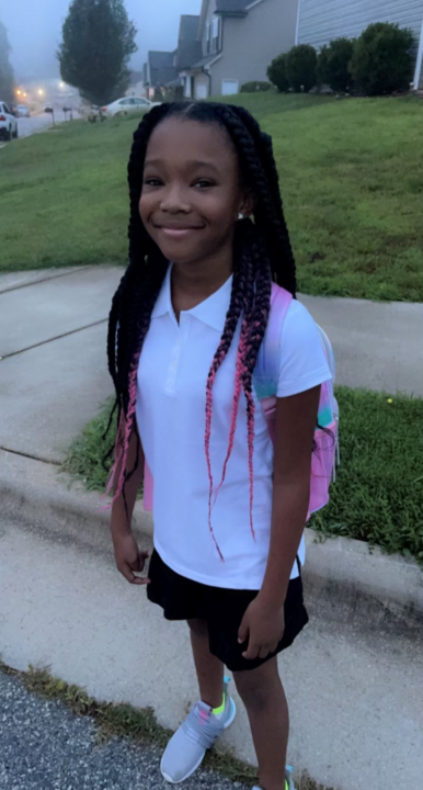 Brianna is heading to Bluford Elementary for 5th Grade