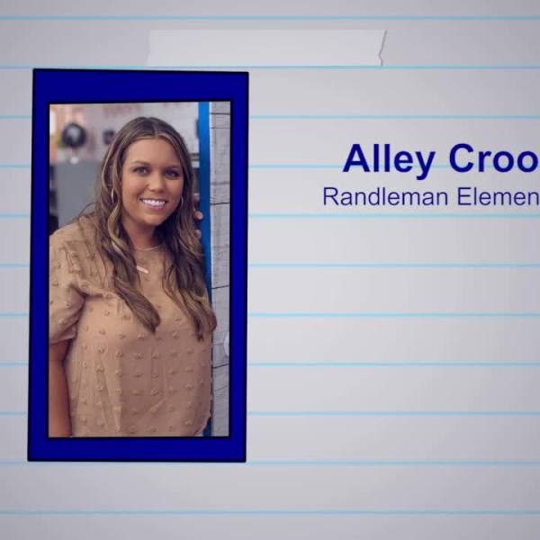 Alley Crook is our Educator of the Week