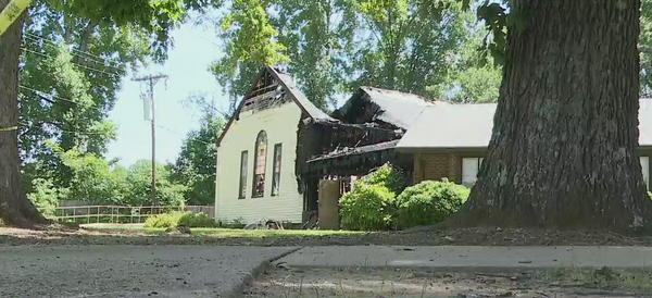 Air conditioning malfunction caused Guilford County church fire