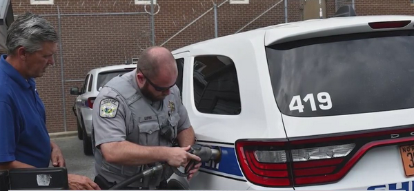 Alamance County Sheriff's Office using alternative fuel in two patrol vehicles
