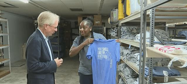 Greensboro apparel company executive pushes important conversation after social justice unrest