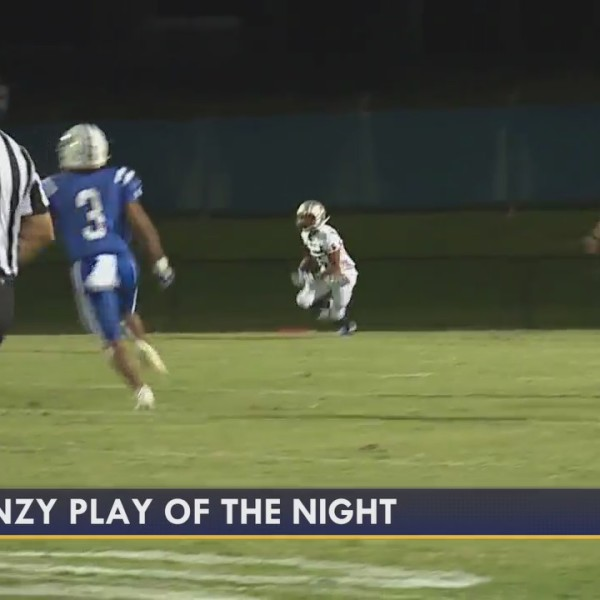 Play of the Night, from Northeast Guilford vs. Ragsdale