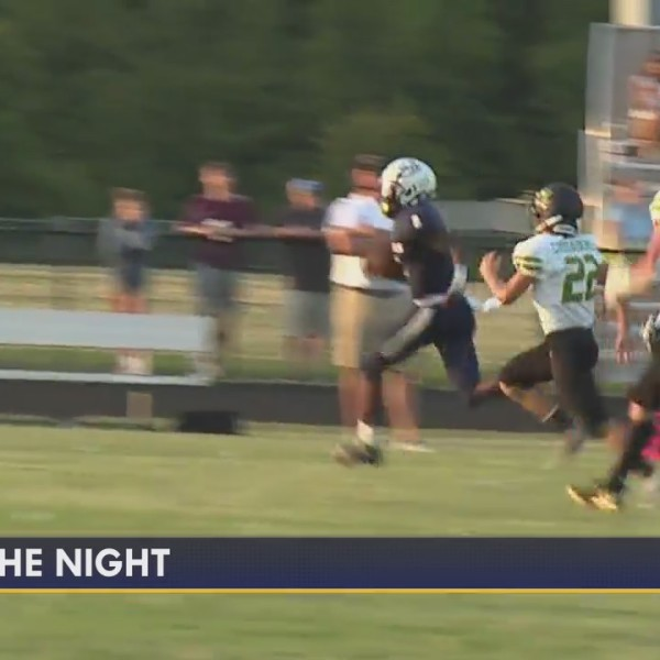 Play of the Night, from High Point Christian vs. Harrells Christian