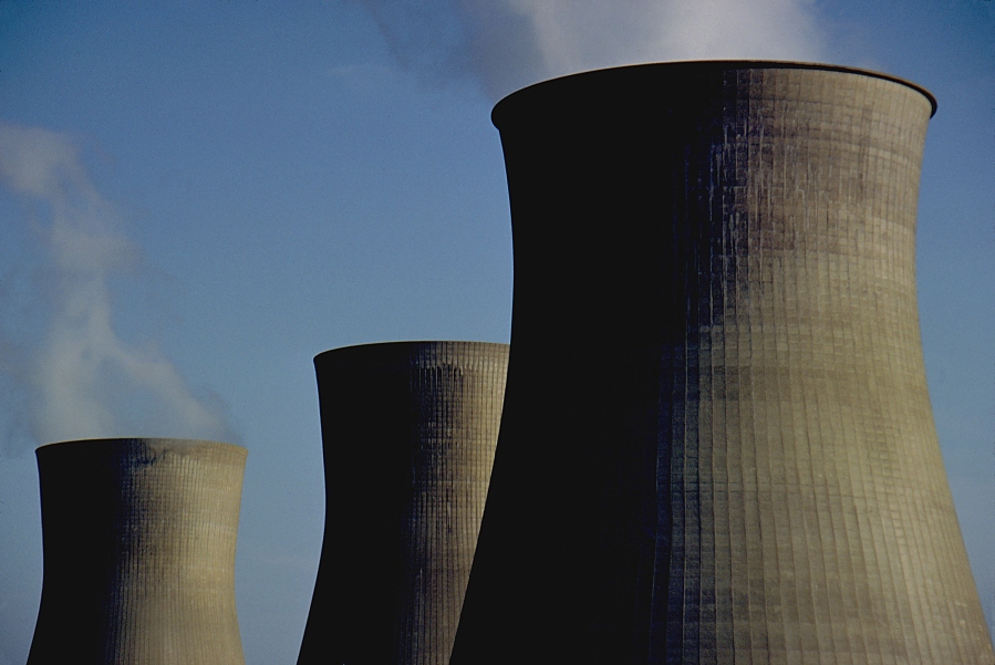 Nuclear cooling towers (Getty Images)